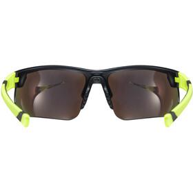 UVEX Sportstyle 221 Sportbrille black mat yellow/yellow